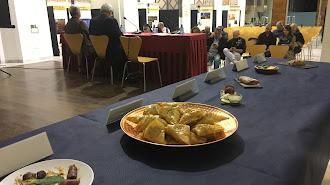 En la presentación se pudieron degustar tapas moriscas de diversos autores.