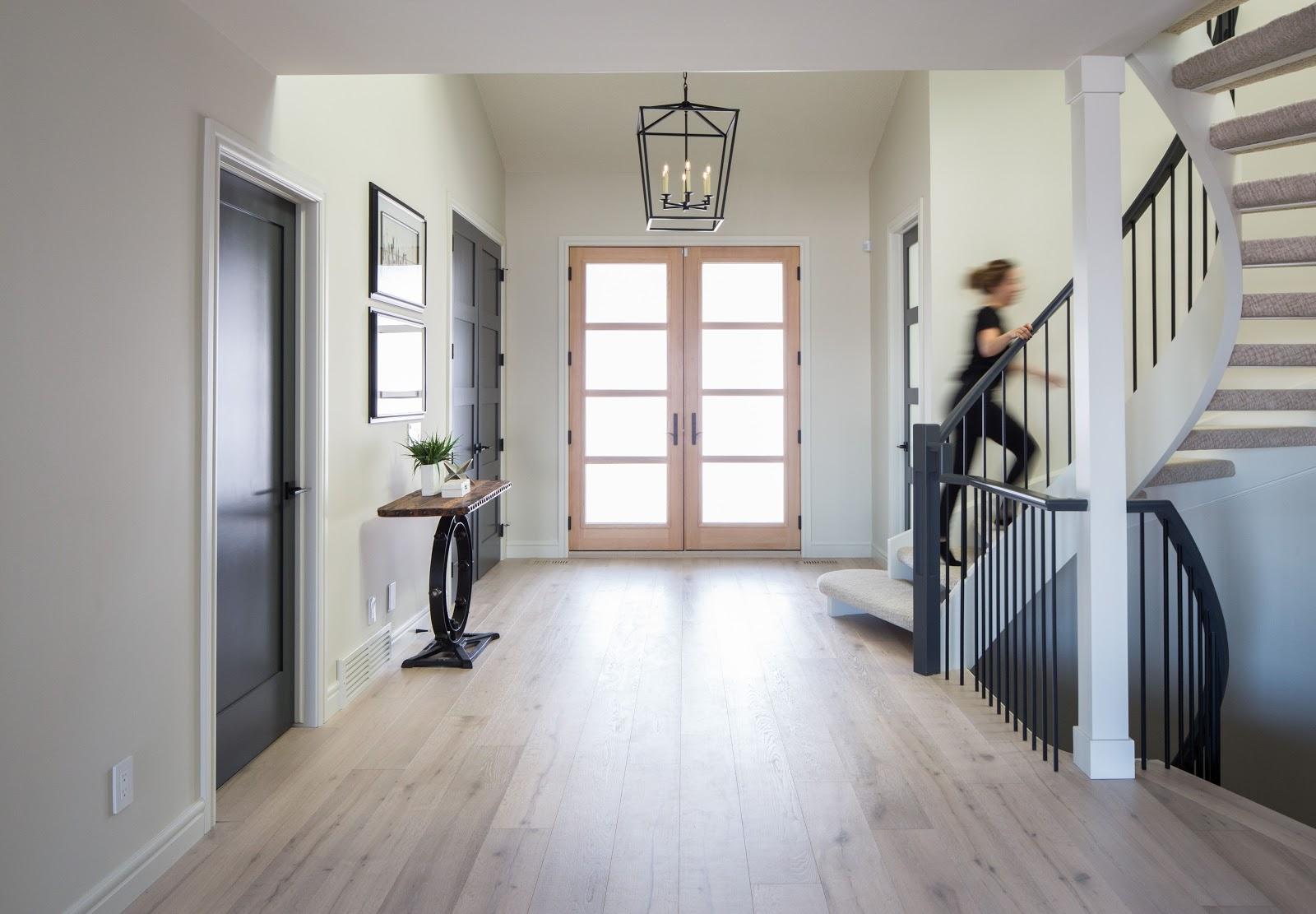 beautiful crisp contemporary designed interior in calgary