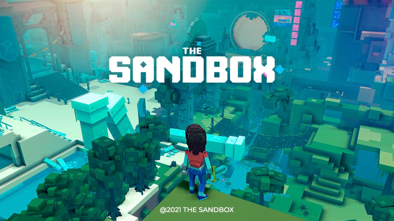 The Sandbox SAND gaming coin