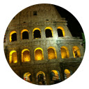 Colosseum New Tab Page HD Pop Building Theme