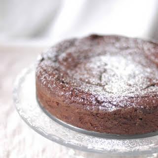 Chocolate-Whiskey Cake.