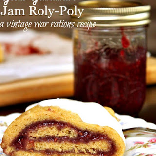 Jam Roly-Poly Recipe without Suet.