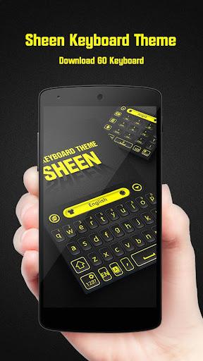 Sheen GO Keyboard Theme