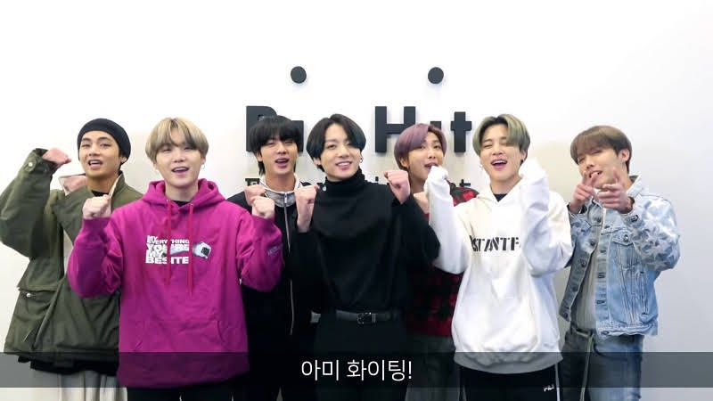BTS Giving HopeAgainst COVID-19