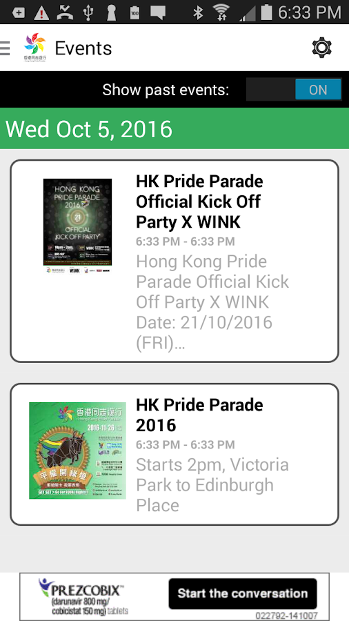 Hong Kong Pride- screenshot