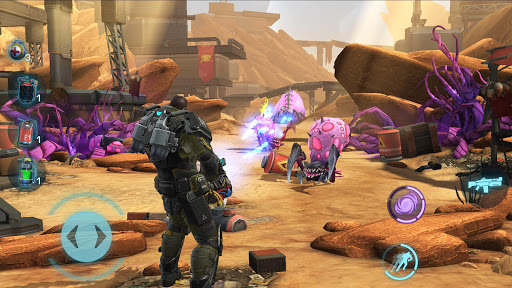 Evolution 2: Battle for Utopia. Shooting games apktram screenshots 1