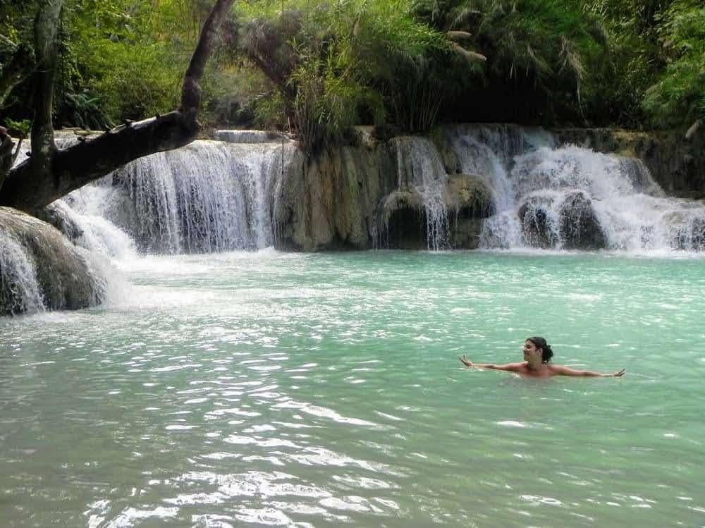 Cascadas Kuang Si Laos