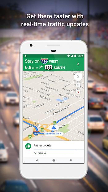 Maps - Navigate & Explore Android App Screenshot