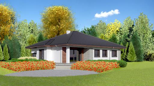 projekt Dom przy Pastelowej bis