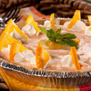 Orange Cream Pie.