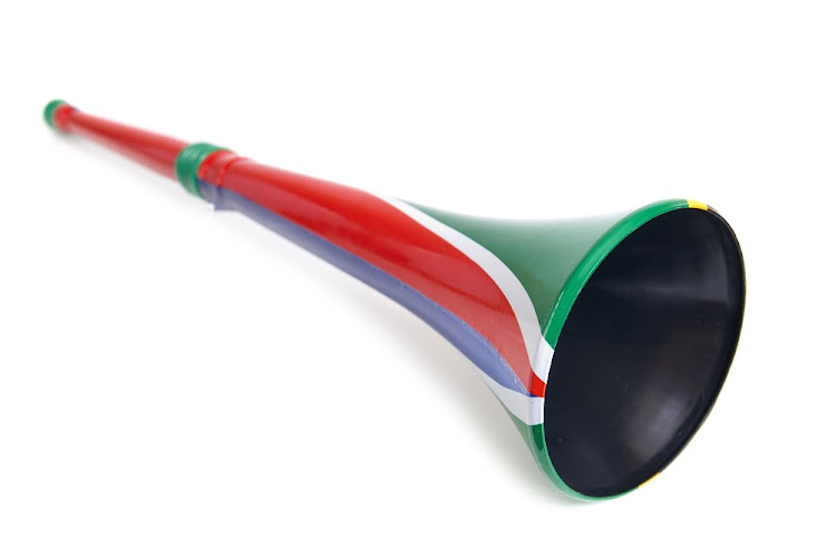 The vuvuzela's are being used as a security measure in Soweto.