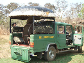 Photo: The return journey to camp was crocodile free!