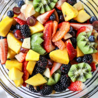 Poppy Seed Fruit Salad.