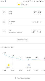 Weather Mate (Weather M8)– miniatura da captura de ecrã