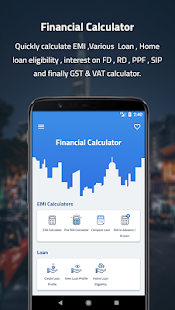 EMI & Financial Calculator PRO Screenshot