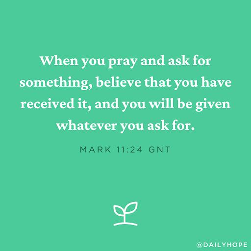 Faith Is Thanking God in Advance