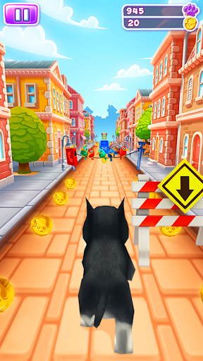 Pet Run - Puppy Dog Game  captures d'écran 1