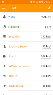 Technutri - calorie counter and carb tracker - náhled