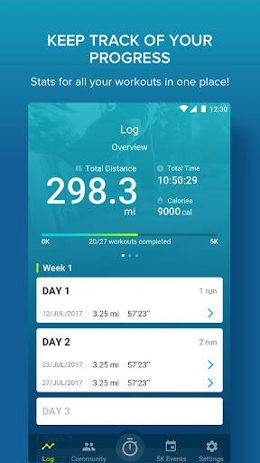 couch to 5k by rundouble apk