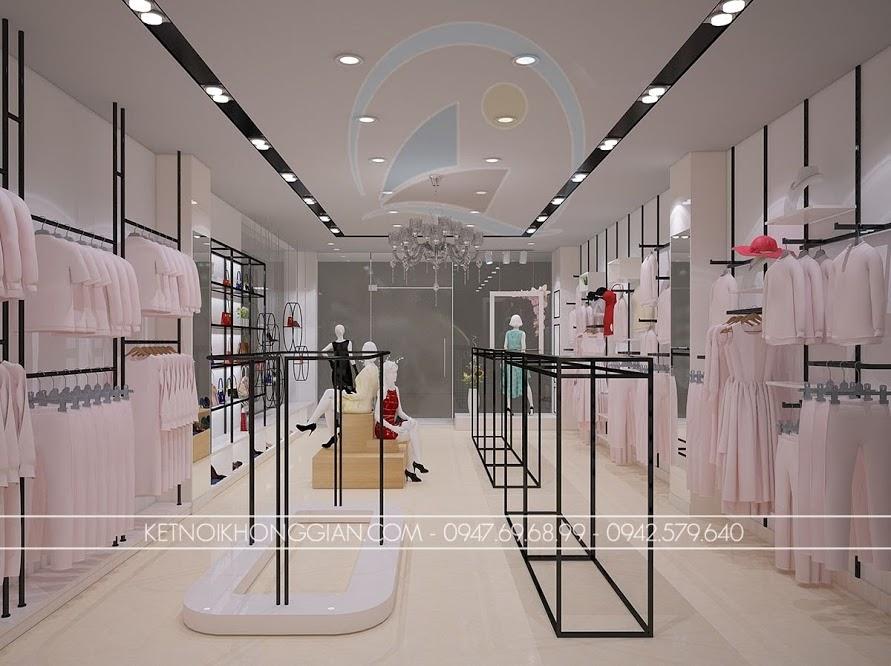 thiết kế shop thời trang nữ cao cấp