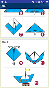 Easy Paper art Origami Designs step by step Craft - náhled