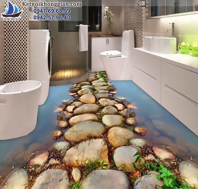 thiết kế nền nhà bằng gạch 3d