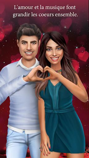 Aventure musicale - Jeux d'amour avec des choix APK MOD – Monnaie Illimitées (Astuce) screenshots hack proof 2