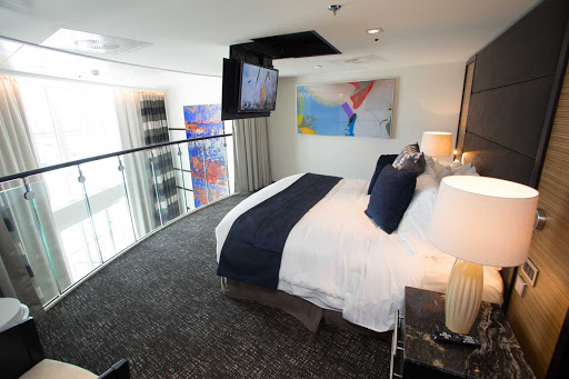 Anthem-of-the-Seas-Owners-Loft - Owner's Loft Suite, the luxurious two-level suite aboard Anthem of the Seas.