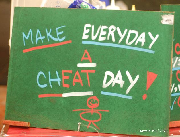 Cheat Day reminder