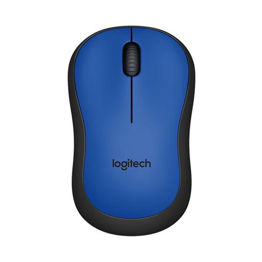 Chuột máy tính Logitech M221 không dây (Xanh)-1