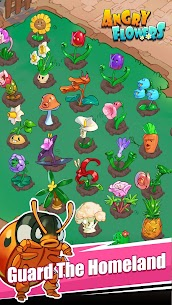 Angry Flowers MOD (Unlimited Money) 1