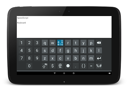SpeedScript Keyboard free- screenshot thumbnail