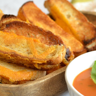 Sharp Cheddar Grilled Cheese Dipping Sticks.