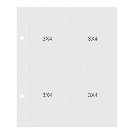 Simple Stories Pocket Pages 6X8 10/Pkg - 2004