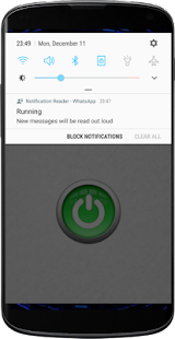 Notification Reader for WhatsApp - náhled