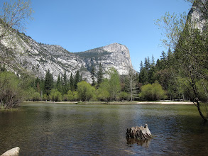 Photo: Mirror Lake at Yosemite, Easter 2014