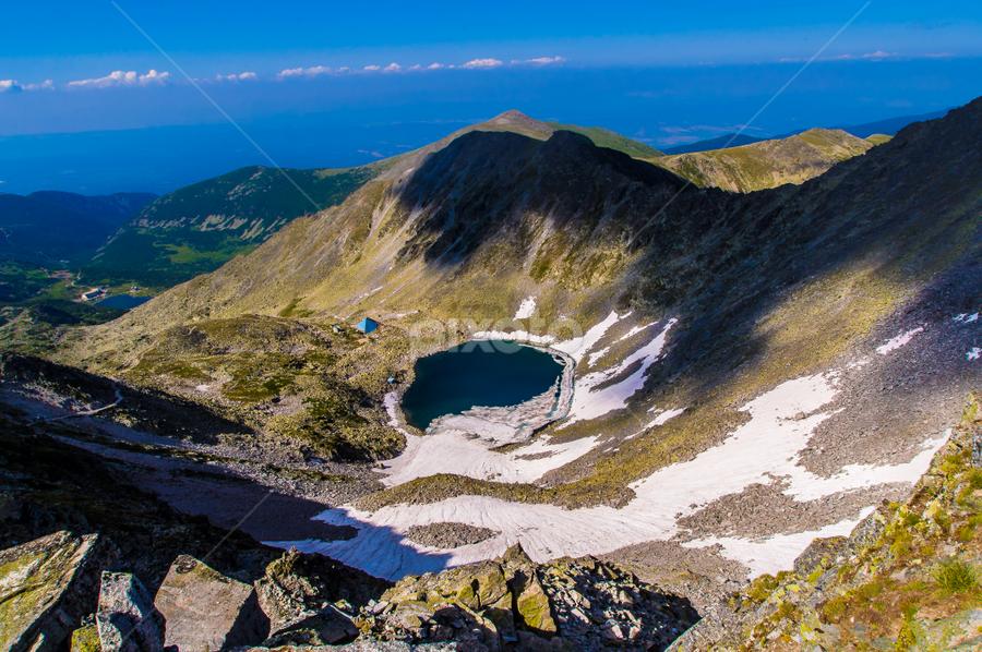 Ledenika by Vladimir Tufekchiev - Landscapes Mountains & Hills ( ledenika, rila, mountian, lake,  )