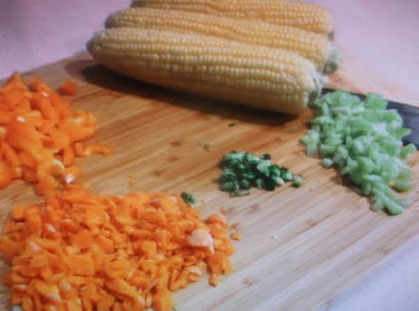 Carrots And Corn Chowder By Eddie