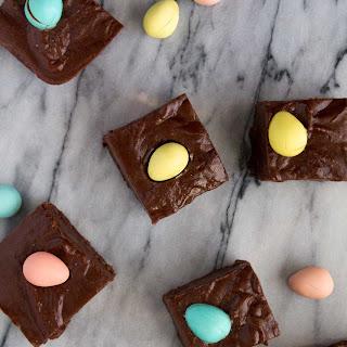 Chocolate Easter Fudge