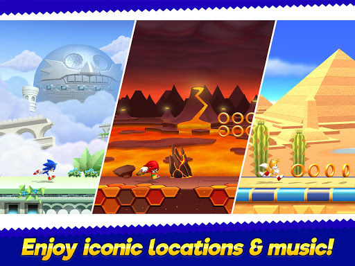 Sonic Runners Adventure - Fast Action Platformer - screenshot