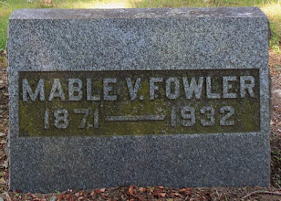 Photo: Fowler, Mable V.