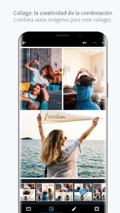 Adobe Photoshop Express: fotos y collages Screenshot