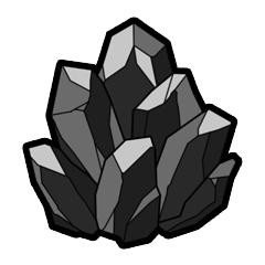 薄墨の鉱石