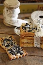 Photo: Crackers de queso y semillas / http://cakesparati.blogspot.com.es/2015/01/crackers-de-queso-y-semillas.html / Isabel / Canon 1100D
