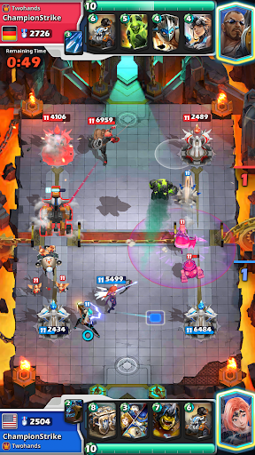 Télécharger Champion Strike: Clash des Héros Arène de Bataille APK MOD (Astuce) screenshots 1