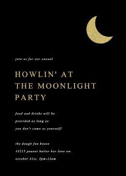 Howlin' at the Moonlight - Halloween item