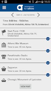 TfA Tourist Tour Planner R2 - náhled