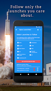 Space Launch Now Screenshot