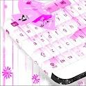 粉红色的键盘女孩主题 icon