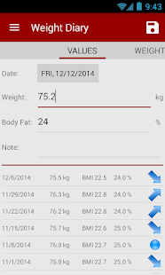 Calories! calorie counter - screenshot thumbnail